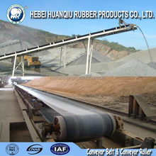 ISO standard rubber coated pulley used for cement industrial