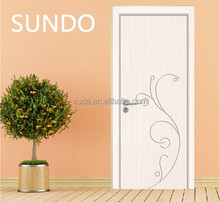 white laminated melamine mdf board design door new products