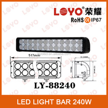 Factory wholesale price!!! 240W super bright led light bar, auto led driving light bar, led light bars for offroad