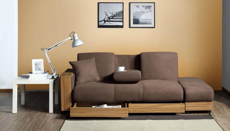 Moderno sofa cama / sofá cama / sofá barato de estilo ... - photo#14