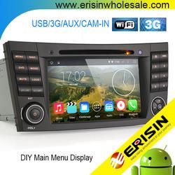 Erisin ES2501B 2 Din 7 inch Touch Screen Car Radio for Mercedes W219