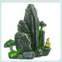 Tree artificial rock decoration fish tank mountain aquarium ornament