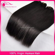 Premium Quality Virgin Human Hair Tangle Free No Shedding Can Be Dyed Cuticle Remy Brazilian Hair Weave Virgin