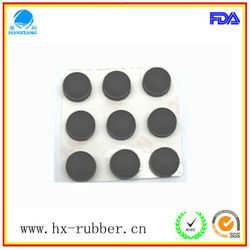 Adhesive Backed Rubber Foot/Dots