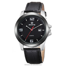 Casual Leather Band Watch Military Wristwatch Male