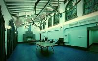 Plastic interlock basketball/volleyball/badminton/ table tennis court floor