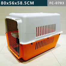 Indoor/Outdoor Plastic pet cage& case& carrier--for medium size