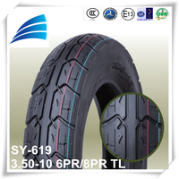 3.50-10 new tyre factory tyres made in china motorcycles spare parts motorcycle tubeless tyre direct from china