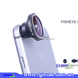 mobile phone accessories factory in China 3 in one lens macro lens+fisheye lens+wide angle lens for mobile phone