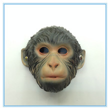 Environmentally friendly materials latex mask horror monkey head masks