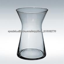 florero de vidrio transparente/florero de vidrio/cristalería forma especial
