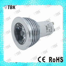 aluminum/pc led spotlight customized 9w/15w/20w aluminum led housing GU10 led lamp cup