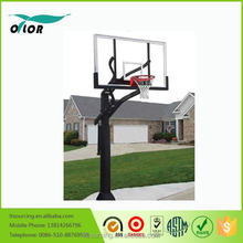 "Wholesale outdoor adjustable in ground easy to assemble basketball stand with 72"" board"