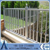 Economic European Palisade Steel Fence For Sale