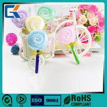 100% cotton customizable cheap price lollipop gift towel