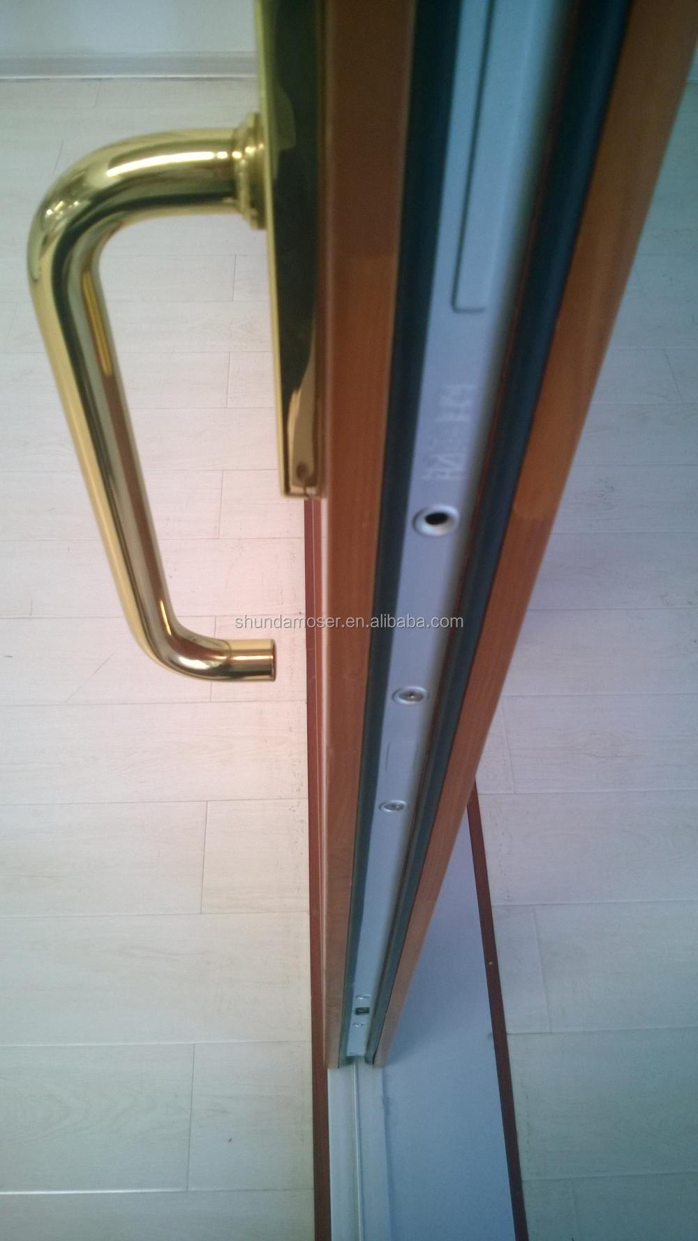 De haute qualit en bois massif double vitrage ascenseur for Porte lift and slide