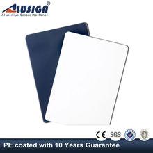 Alusign 12 years High strength acp panel cork walls panels of aluminum panel