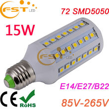E27 15W SMD5050 85-265V 360degree 1550lm led lamp