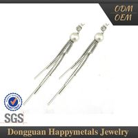 Cheaper Price Stainless Steel Jewelry Dangler Earrings