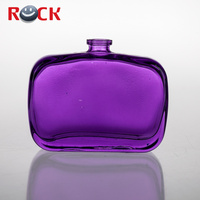 2oz 59ml new design sample glass perfume bottle for women