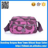 Stylish Printed Cotton Sling Messenger Bags Nylon Shoulder Bag For Women