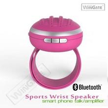 Super Mini Wireless Bluetooth Handsfree Speaker for iPhone Samsung Tablet-Blue