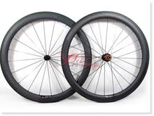 Lightest, 2015 Full carbon wheels 50mm 25mm 700c, build with Sapim spokes for bike shop