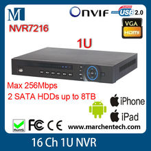 in stock high quality dahua 16 Channel ONVIF NVR NVR7216 1U Network Video Recorder