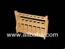 prueba de madera tubo de soporte para el laboratorio