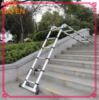 supply telescopic ladder including folding stools and foldaway step ladder