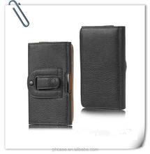 2015 Wholesale Leather Phone Flip Case ,leather belt clip flip wallet case for iphone 6