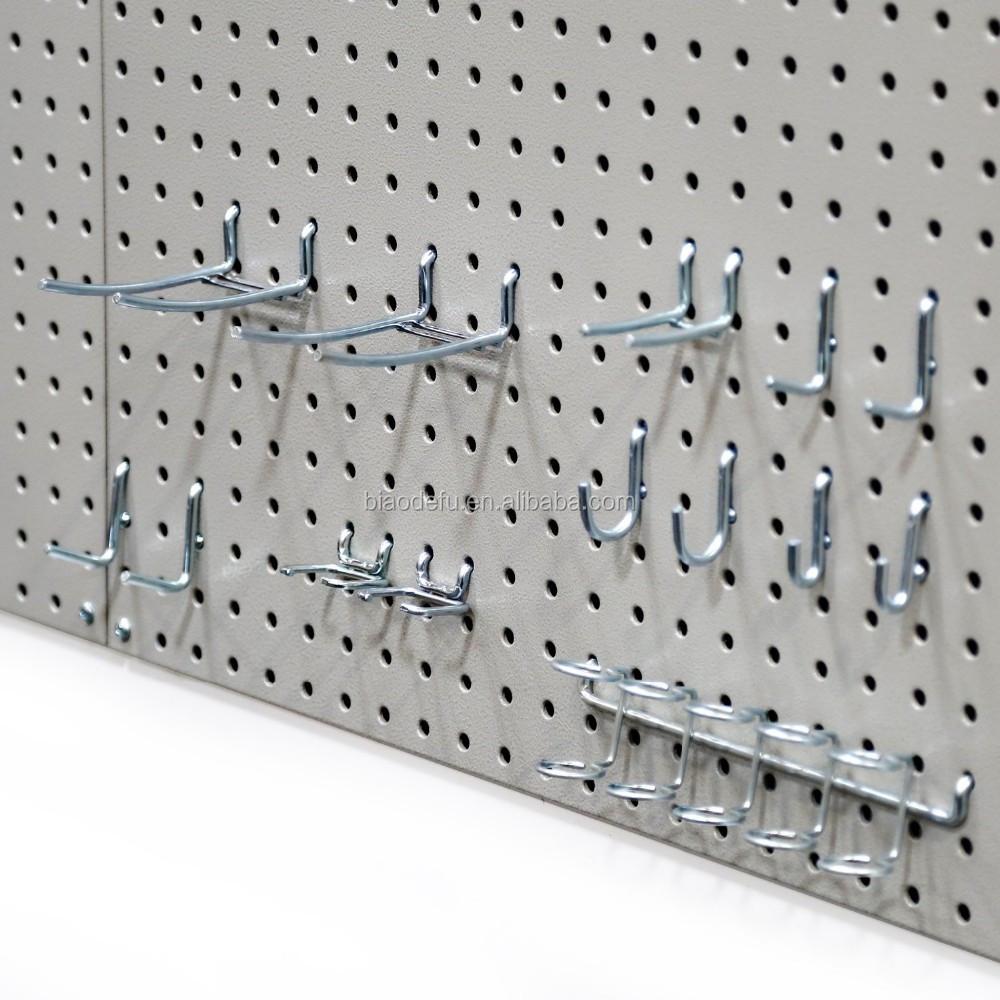 panneau perfor accessoires m tal panneau perfor panneaux pour accrocher pegboard tag res. Black Bedroom Furniture Sets. Home Design Ideas
