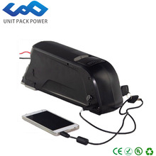 High quality electric bicycle battery 36v 8ah dolphin case lithium ion batteries