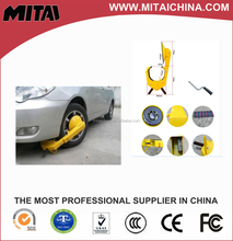 Small Suction Cup Security Car Tyre Lock For Parking System