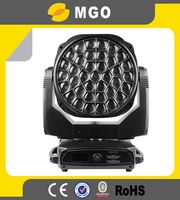 37pcs*15w RGBW 4in1 Zoom LED Moving Head Bee Eye K20 Beam Spot Wash Kaleido Stage Light