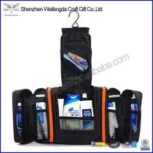 Multifunction high quality hanging travel wash bag mens toiletry bag
