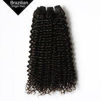 VV Hair China Supplier 8inch-26inch Natural Black Kinky Curly Virgin Hair Weft For American African Women