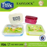 China manufacturer BPA free airtight mircrowave container box plastik