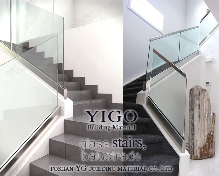 sans cadre int rieure verre escalier balustrades designs. Black Bedroom Furniture Sets. Home Design Ideas