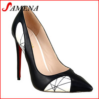 Lady formal dress shoes woman high heel fashion shoes