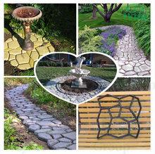 Plastic mould for grass pavers for parking lot, garden path pavement tile DIY Mold