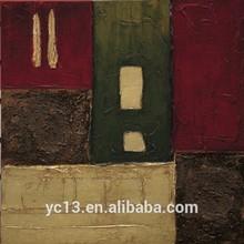 guangzhou venta al por mayor dmy tríptico decorativos pintura al óleo moderna