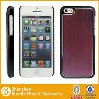 Wire Drawing Protective Case for iphone 5c