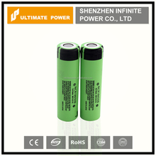 Rock bottom price for panasonic 18650 3400mah high drain rechargeable lithium battery NCR 18650B