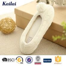 pattini di balletto cashmere design bianco