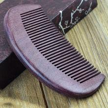 nuevo cuidado de la salud cepillo estilo sedoso cabello portátil de madera peine