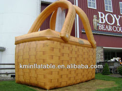 giant inflatable shopping basket