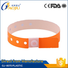 China professional manufacture disposable latex allergy bands