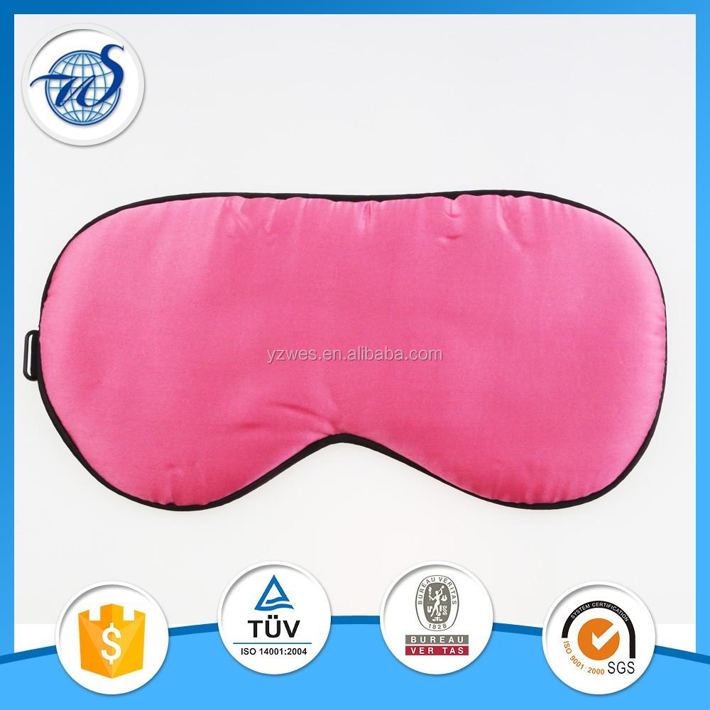 100% de seda máscara de olho