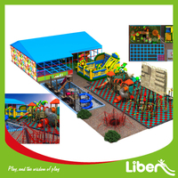 Commercial Outdoor Park Plan with trampoline & playground equipment from China Factory for sale
